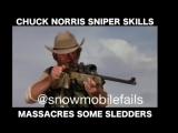 Chuck Norris sniper skills ???