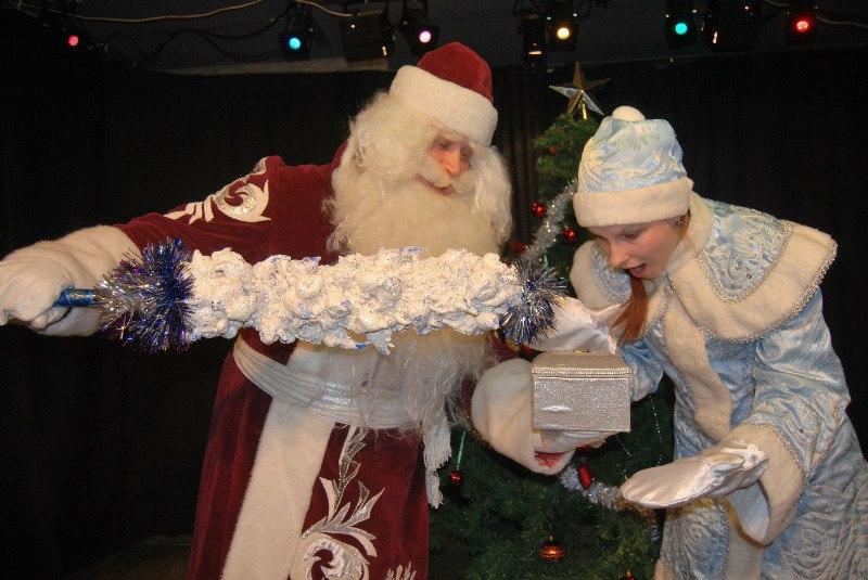 Дед Мороз и Снегурочка в детский сад, в школу, гимназию
