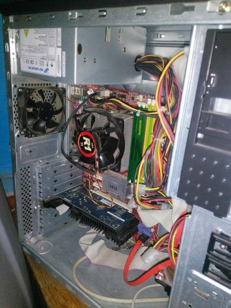 #NMK_компьютеры Есть системник!Материнка K9n neo v3 Hdd 320gd ОЗУ