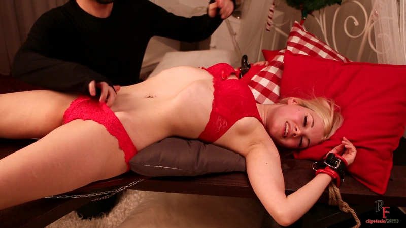RussianFetish — Young Mother Sensual Tickling on The Cross [Erotic Tickling | vk.comclub149344331]