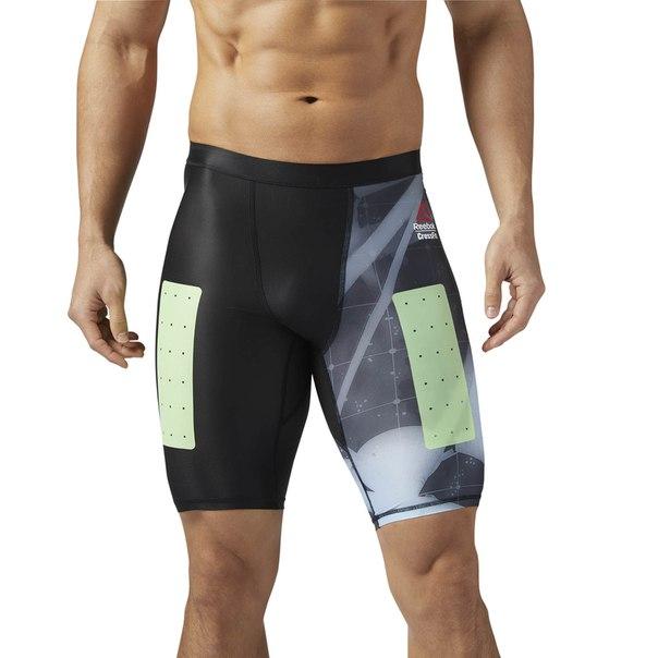 Компрессионные шорты Reebok CrossFit - Heliorig Print