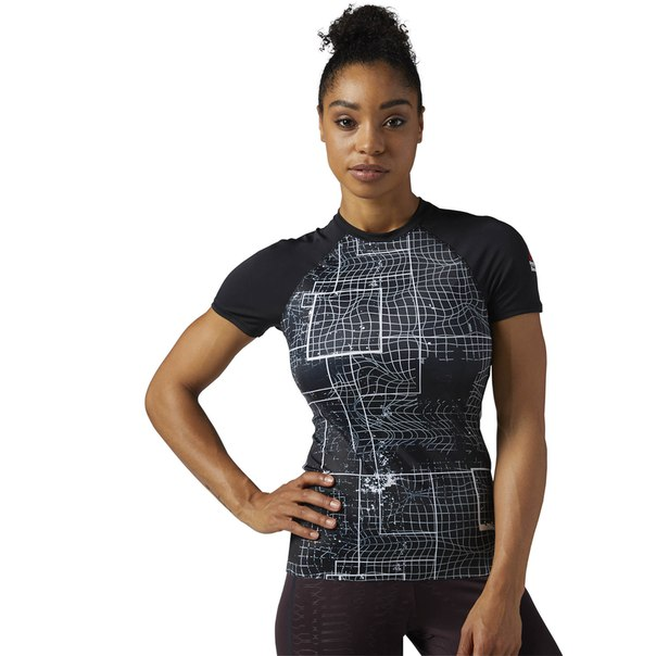 Компрессионная футболка Reebok CrossFit Paddle