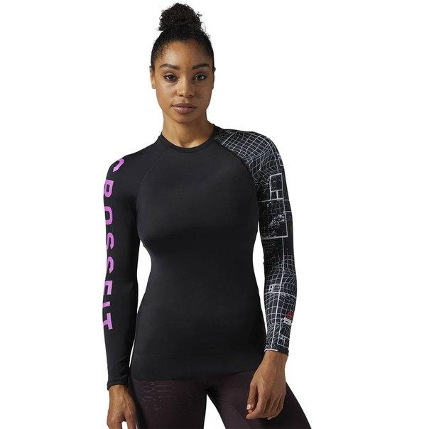 Спортивная футболка с длинным рукавом Reebok CrossFit Paddle