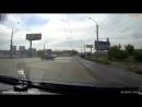Проехал на красный и попал в аварию, 70 лет октября Омск