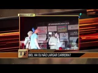 BIEL CHORA E DIZ QUE NÃO LARGOU CARREIRA NADA