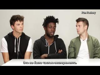 Цис-мужчины первый раз испытывают менструацию/Guys Experience Periods For The First Time rus sub