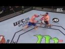 UFC Fight Night - 107 хайлайт OMIELANCZUK vs JOHNSON второй раунд
