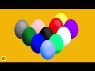 Изучение цвета-яйцо с сюрпризом