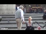 Старик Знакомится (Пикапит) С Девушками На Улице 2015 (Пранк Розыгрыш Прикол)