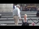 Старик Знакомится Пикапит С Девушками На Улице 2015 Пранк Розыгрыш Прикол