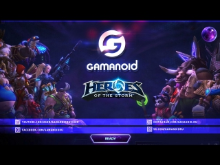 Прямая трансляция THE HEROES OF THE STORM GLOBAL CHAMPIONSHIP от Gamanoid 29.01.17