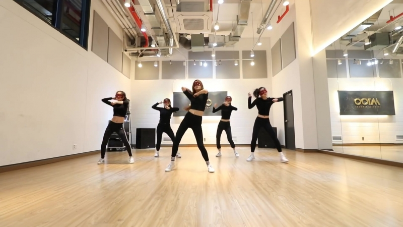 2017.04.13 A100 Entertainment First Project — PRACTICE SIX (Janet Jackson — Burn It Up)