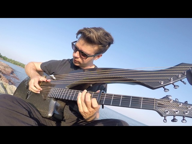 In The End Linkin Park Ambient Version Harp Guitar Cover Jamie Dupuis