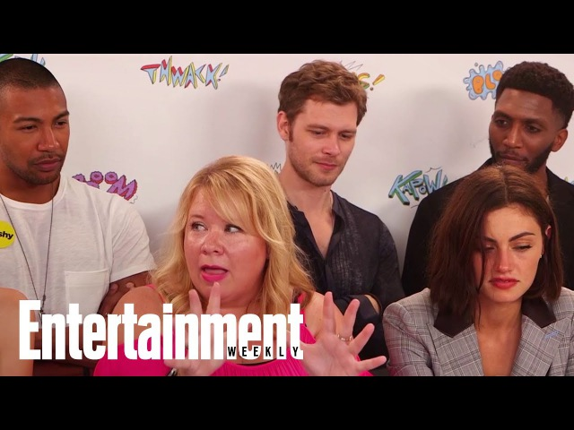 The Originals' Julie Plec Reveals Hayley's Friends With Benefits | SDCC 2017 | Entertainment Weekly