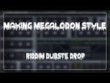 Megalodon/Old Datsik Style Riddim Dubstep Drop Tutorial in FL Studio using Massive