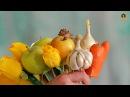 Сделано в Кузбассе Создание букета из овощей и фруктов