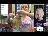 Stacked Bob Haircut For Little Girls