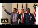 Сцена с Тони Старком и Ником Фьюри | Железный человек 2 | 4K ULTRA HD