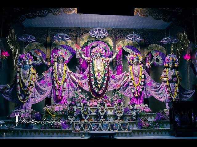 ISKCON Global Gaura Purnima Special Deity Darshan 12 March 2017