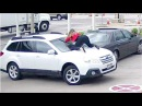 Car thief did not expect woman to do this