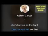Karaoke Version Sooner Or Later - Aaron Carter