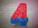 Как сделать ОБЪЕМНУЮ ЦИФРУ в стиле человек-паук?