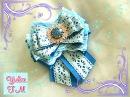 Школьный галстук галочка из лент для девочки/DIY/BACK TO SCHOOL
