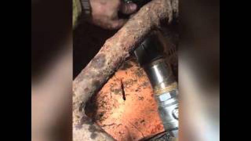 Врезка под давлением в трехсотую трубу