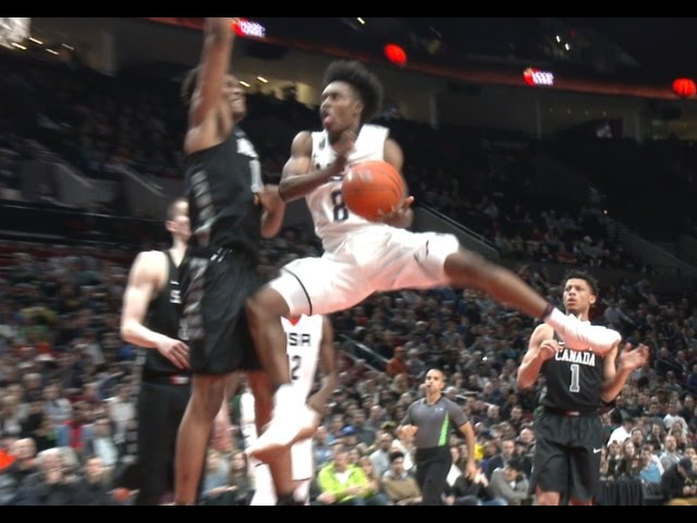 Collin Sexton Electrifies In All Star Games!! Hoop Summit McDonald's All American Highlights
