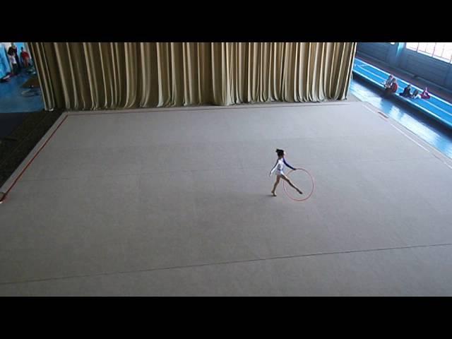 Настя Руппель Nastja Ruppel gymnastics Упражнение с обручом гимнастика