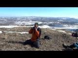 Якутский хомус на хребте Нурали. Песня приветствия Ворона