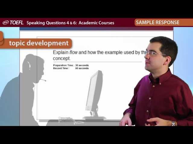 TOEFL® Speaking Questions 46 │Inside the TOEFL® Test