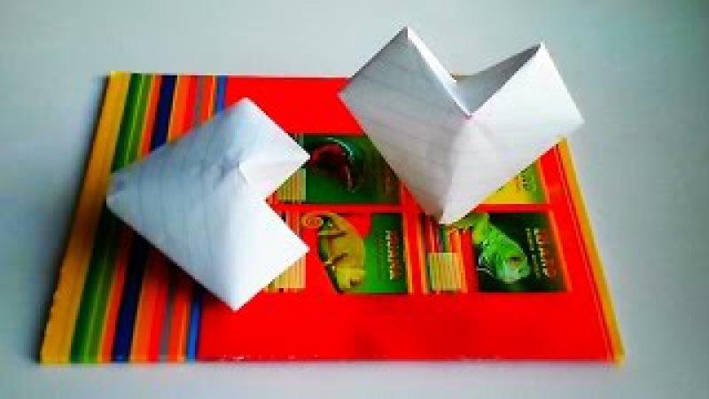 Надувные оригами как сделать