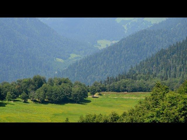 Долина Семи озер. Рица. Горы и водопады Абхазии
