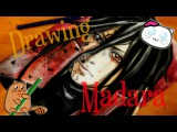SPEED DRAWING/Uchiha Madara/うちはマダラ (Naruto)