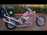 Easy Rider Captain America Chopper - Fire me up!