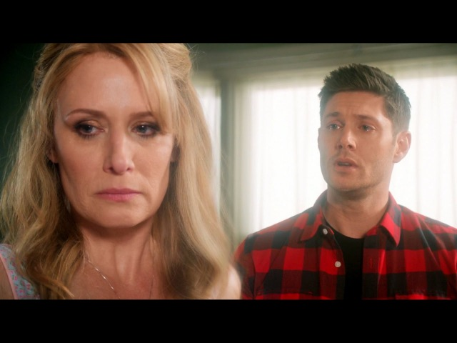 Supernatural 12x22 I hate you..And I love you Dean Confronts Mary And Forgives Her