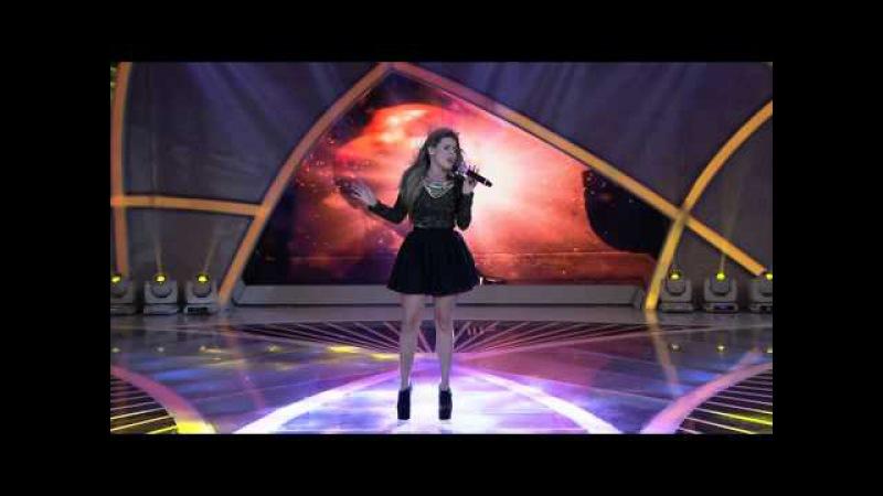 Programa Raul Gil - Carol Cabrino (Roar) - Jovens Talentos - JT2013