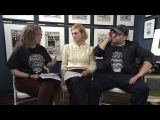 Alison Sudol and Dan Fogler talk new way that you can get involved with Lumos Foundation USA