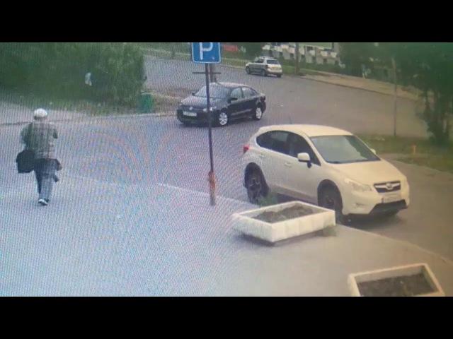 06.07.2017 Видео наезда на пешехода (Архангельск)