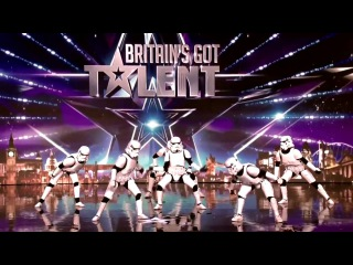 Британия ищет таланты - солдаты-клоны танцуют