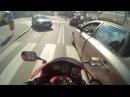Udana ucieczka motocyklem HONDA CBR 954 policji, HD, Limanowa!