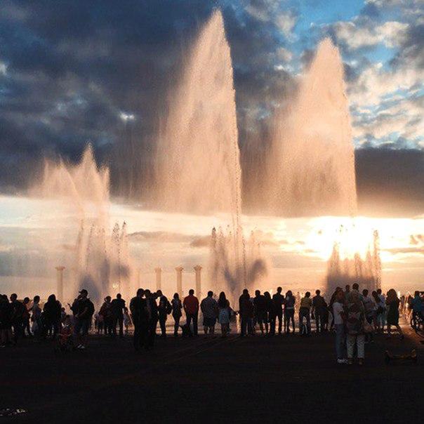 Пешеходный фонтан начнёт работать по расписанию на следующей неделе