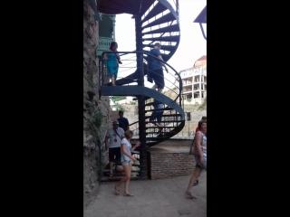 Винтовая лестница в Инжировом ущелье