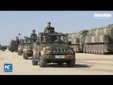 Военный парад Армии Китая - посвященный 90-летию НОАК  China holds military parade to mark PLA 90th birthday