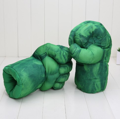 Перчатки Халка