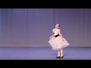 Я сам Александрова Ясмина 19.02.17 Тарантелла на основе балета