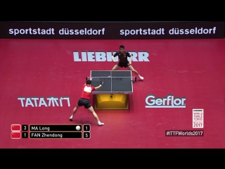 2017 World Championships - Highlights MA Long vs. FAN Zhendong (Final)