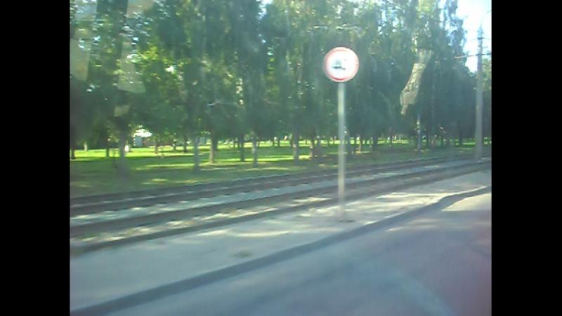 ПАЗ-32054 (АН 907 22). Покатушки по Барнаулу-2.