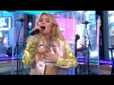Zara Larsson - 'Never Forget You'  live on GMA